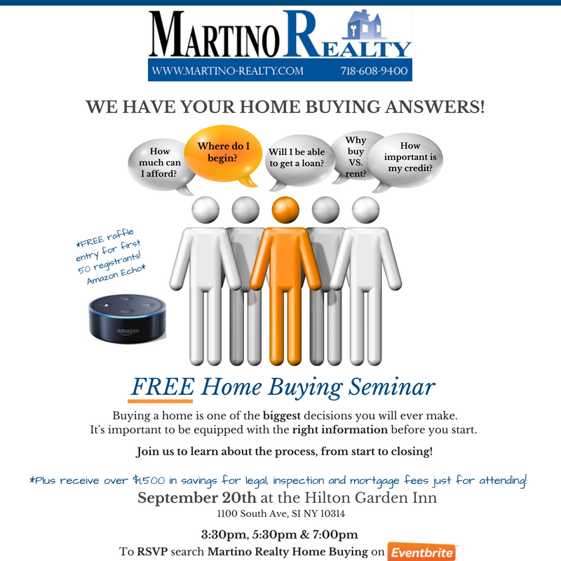 Staten Island Home Buying Seminar